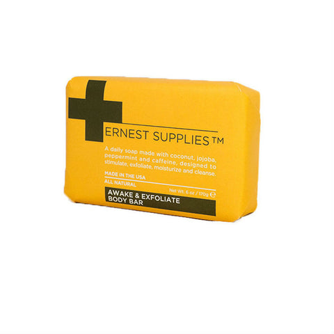 Ernest Supplies Awake & Exfoliate Body Bar (170g)