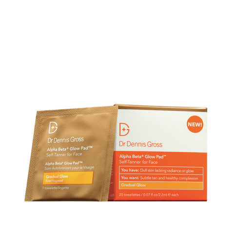 Dr. Dennis Gross Skincare Alpha Beta Glow Pad - Gradual Glow (20 applications)