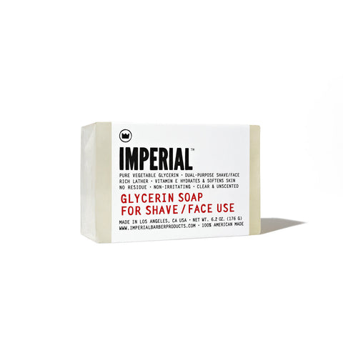 Imperial Glycerin Shave/Face Soap (176g)