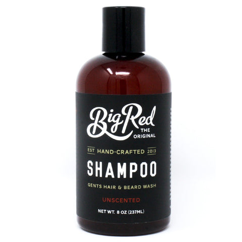 Big Red Beard Shampoo -  Unscented (236ml)