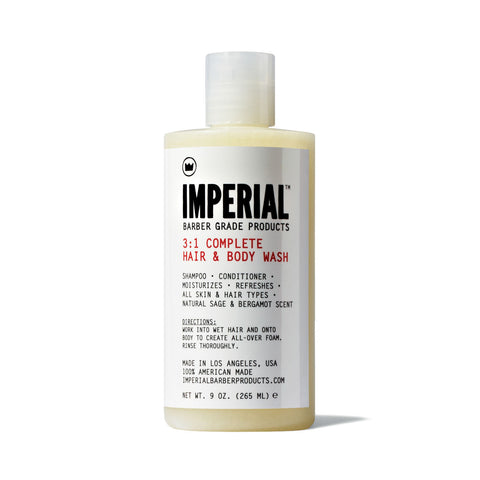 Imperial 3:1 Complete Hair & Body Wash (265ml)