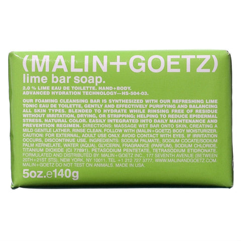 (Malin+Goetz) Lime Bar Soap (140g)