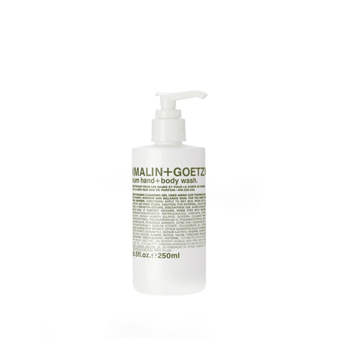 (Malin+Goetz) Rum Hand + Body Wash (Size Options)