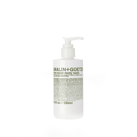 (Malin+Goetz) Lime Hand + Body Wash (250ml)