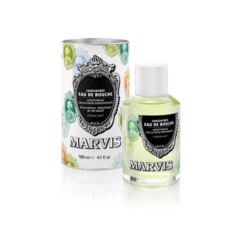 Marvis Concentrated Strong Mint Mouthwash (120ml)