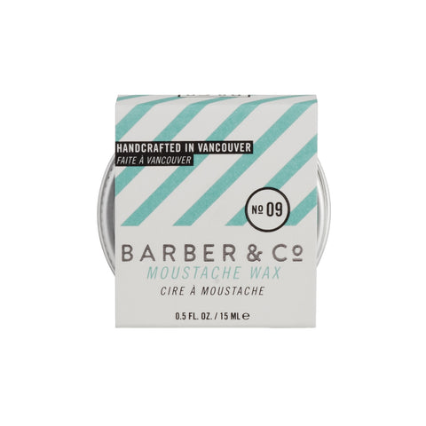 Barber & Co NO.09 Moustache Wax (15ml)