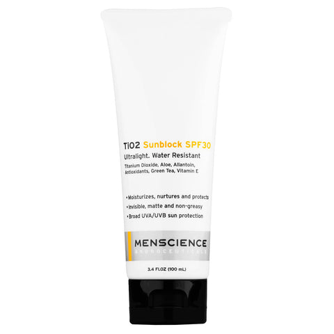 Menscience TiO2 Sunblock SPF30 (100ml)
