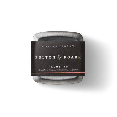 Fulton & Roark Solid Cologne - Palmetto (.2oz)