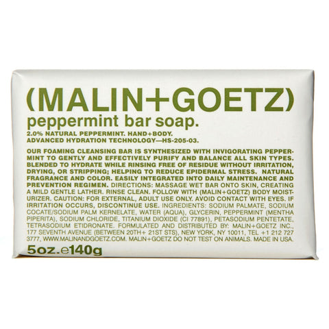 (Malin+Goetz) Peppermint Bar Soap (140g)