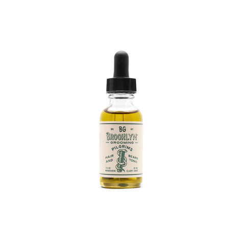 Brooklyn Grooming Pilgrim's Classic Hair and Beard Tonic (Size Options)