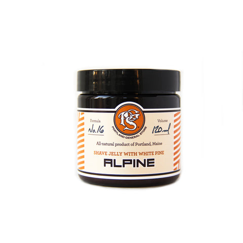 Portland General Store Alpine Shave Jelly (120ml)