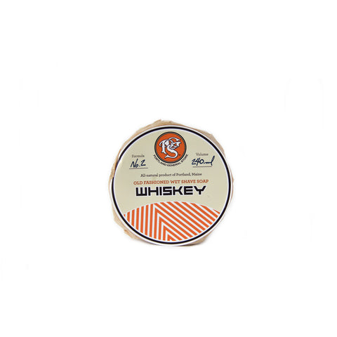 Portland General Store Whiskey Wet Shave Soap (240ml)