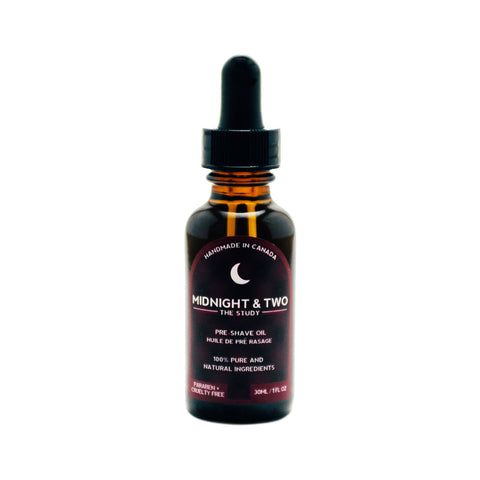 Midnight & Two Pre-Shave Oil (30ml) - Options