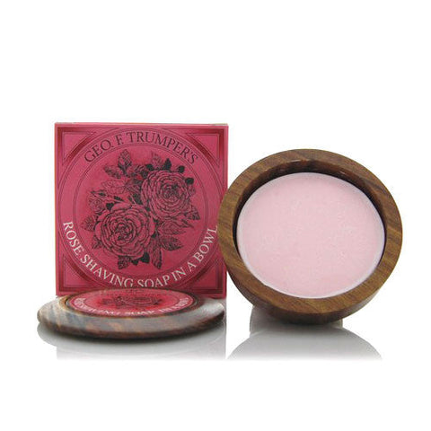 Geo. F. Trumper Rose Hard Shaving Soap (80g)