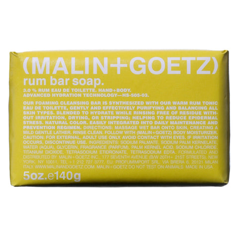 (Malin+Goetz) Rum Bar Soap (140g)