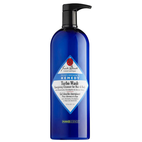 Jack Black Turbo Wash Energizing Hair & Body Cleanser (Size Options)