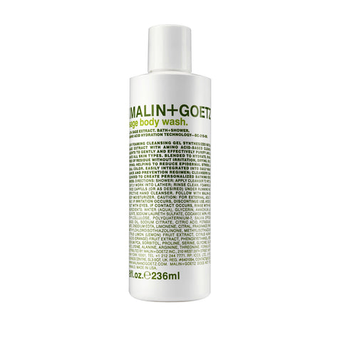 (Malin+Goetz) Sage Body Wash (236ml)