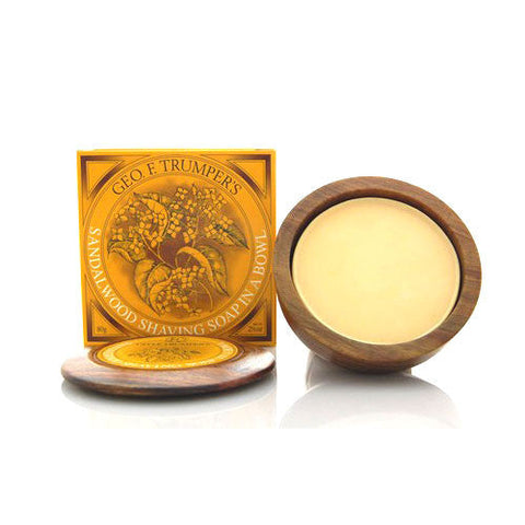 Geo. F. Trumper Sandalwood Hard Shaving Soap (80g)