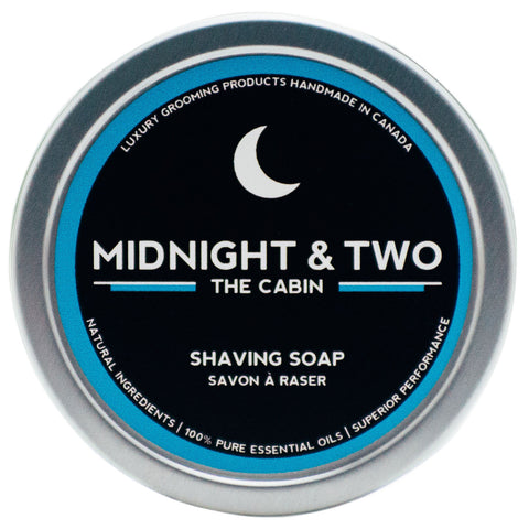 Midnight & Two Shave Soap (4oz) - Options