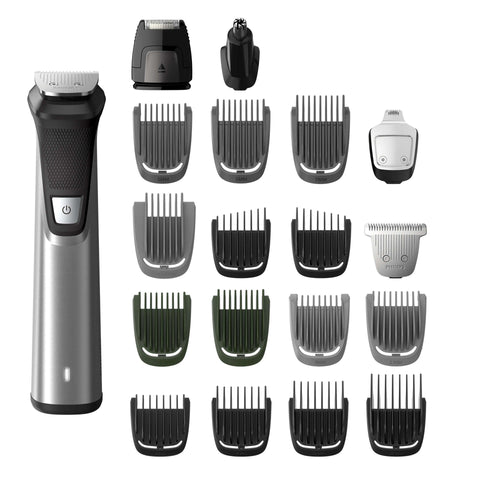 Philips MG7770 Multigroom All-In-One Trimmer for Face, Head, and Body
