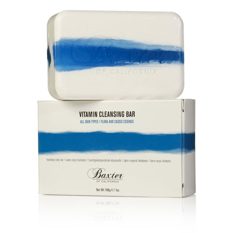 Baxter of California Vitamin Cleansing Bar - Flora & Cassis (198g)