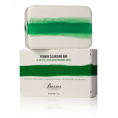 Baxter of California Vitamin Cleansing Bar - Italian Lime & Pomegranate (198g)