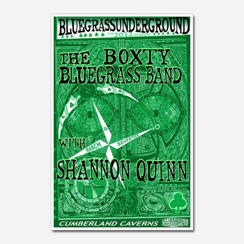 The Boxty Bluegrass Band Show Poster