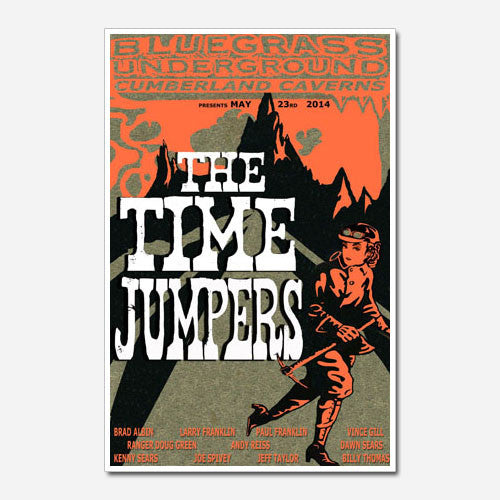 The Time Jumpers Show Poster