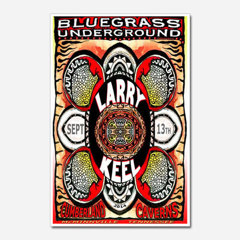Larry Keel Show Poster