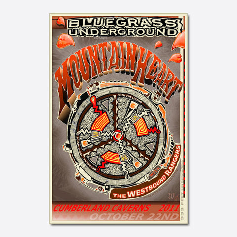 MountainHeart Show Poster (2011)