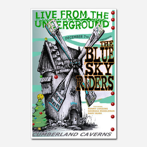 The Blue Sky Riders Show Poster