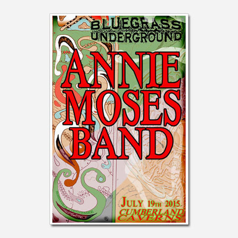Annie Moses Band Show Poster