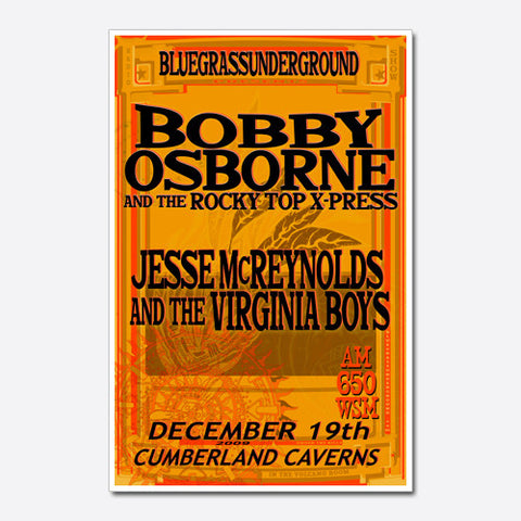 Bobby Osborne and the Rocky Top X-Press Show Poster