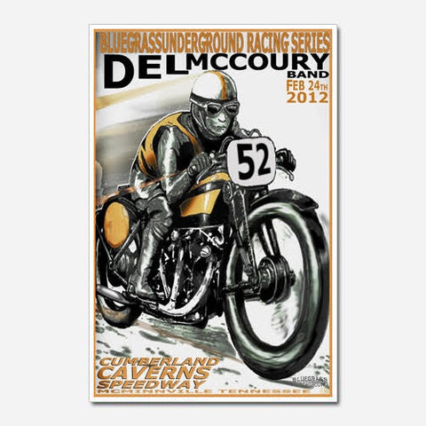 Del McCoury Show Poster (2012)