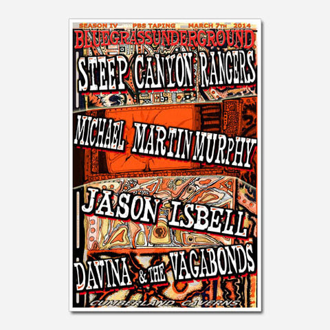 Steep Canyon Rangers Show Poster