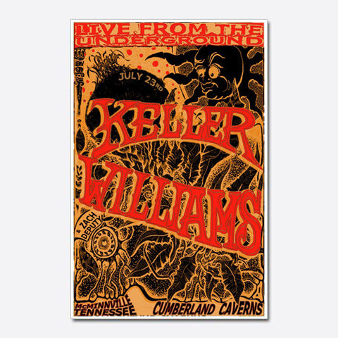 Keller Williams Show Poster