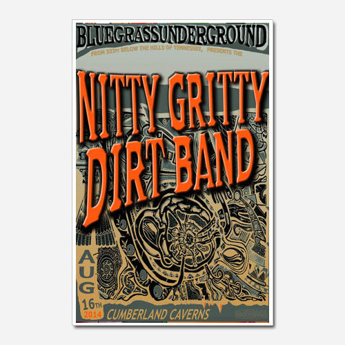 Nitty Gritty Dirt Band Show Poster