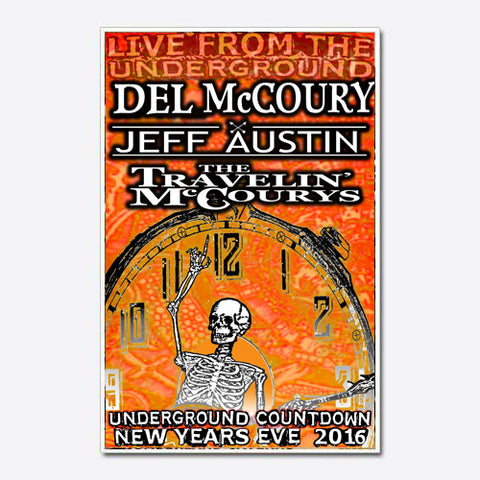 Del McCoury Show Poster