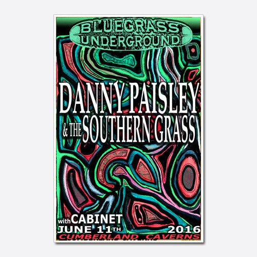 Danny Paisley Show Poster