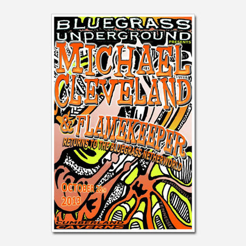 Michael Cleveland and Flamekeeper Show Poster (2013)