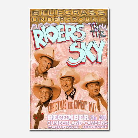 Riders In The Sky Show Poster
