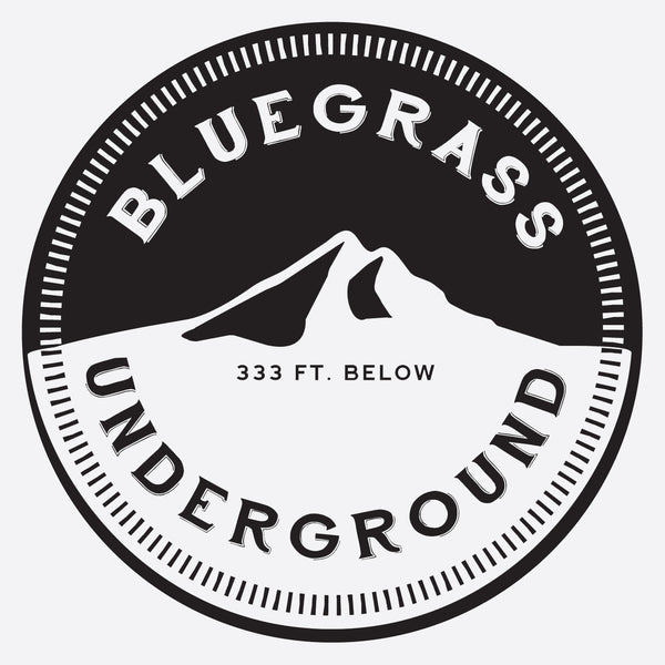 Bluegrass Underground Vinyl Sticker (Single)