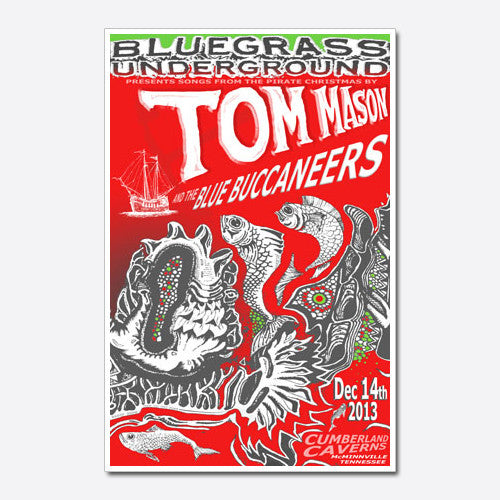 Tom Mason and the Blue Buccaneers Show Poster