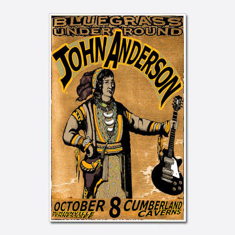 John Anderson Show Poster