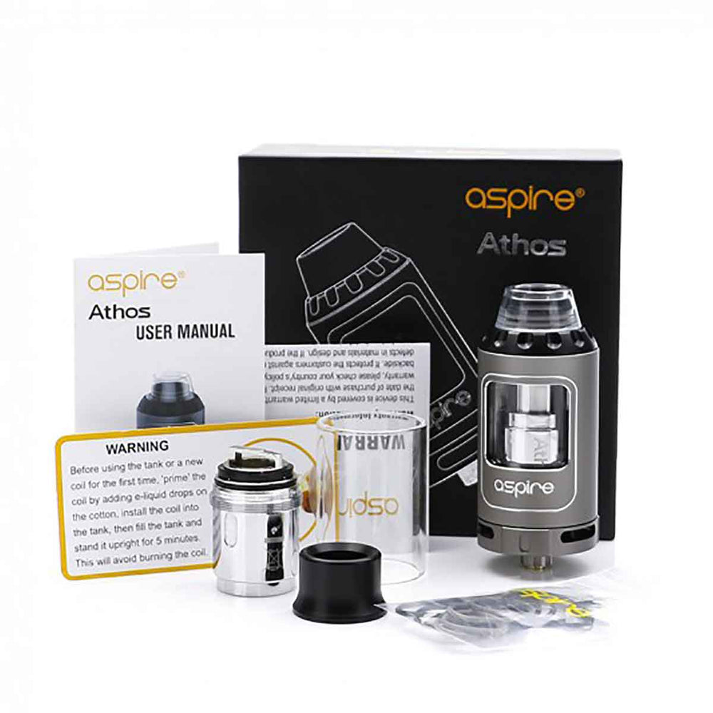 Aspire Athos Tank Package Contents