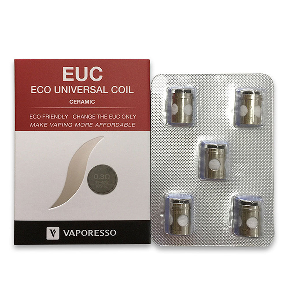 EUC Ceramic Replacement Coil (5-Pack)