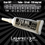 Black 720 mg/ml - 5 Units