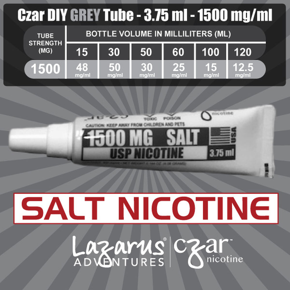 Grey SALT 1500 mg/ml