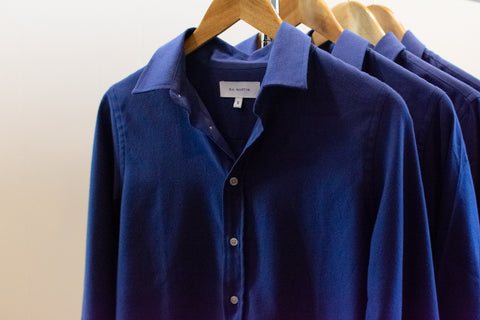 Blue Oxford Shirt