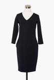 Bracelet Sleeved Pencil Dress